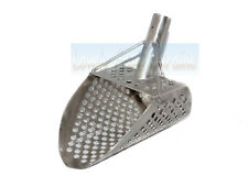 Beach Sand Scoop Stainless Steel Metal Hunting Detector Tool Handmade 2 mm