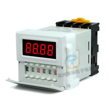 AC/DC 24-240V Cycle Time Timer Switch Delay Relay ON OFF Repeat 0.1s-99h ZYS48-S