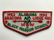 Aracoma Lodge 481 S6 OA Flap patch Order of the Arrow Boy Scout mint