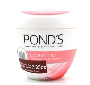 POND'S CLARANT B3 Moisturizing Hypoallergenic Cream 200g / 7oz ( Brand New )