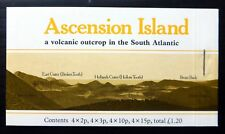 ASCENSION ISLAND 1981 Volcanic £1.20 Booklet SB3a Cat £10 NF438
