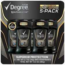 Degree Sport Defense Antiperspirant Deodorant 2.7 oz. 5-count
