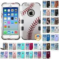 For Apple iPhone 6 6S (4.7) SHOCKPROOF IMPACT ARMOR TUFF Hybrid Case Cover
