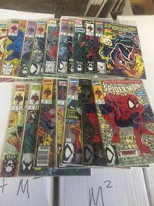 SPIDER-MAN #1-16, Whole set of Todd McFarlane Run, Marvel comics (17 Comics)