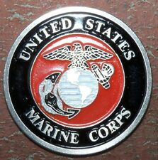 USMC Marine Corps GOLF BALL MARKER Extreme Detail - sticks to a magnet