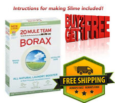 BORAX Pure Slime maker, Crystal Activator Pest Control 85g+.