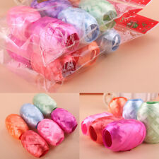 Birthday Wedding Party Decor Balloon Colorful Curling Ribbon Gift Wrap 6Roll 60M