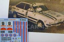 "DECAL CALCA 1/43 SEAT 124 SPORT ""ESC REPSOL"" M. JUNCOSA RALLY VASCO NAVARRO 1971"
