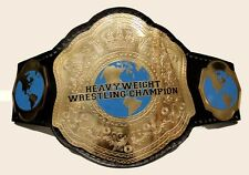 World Heavyweight Championship Wrestling Title Belt, Small Globe WWE TNA ROH PWG