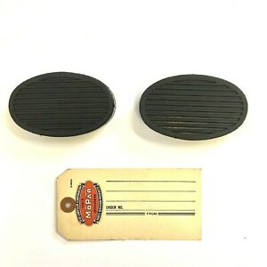 1930 1931 1932 1934  Chrysler and DeSoto Clutch and Brake Pedal Pad Set