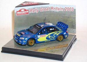 Subaru Impreza WRC 03 No.8 T.Mäkinen/K.Lindsträm Wales Rally 2003