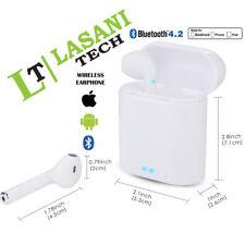 New I7S TWS Wireless Ear Pods Pair 2in1 White Bluetooth Earphones Headphones UK