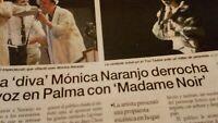 Mónica Naranjo. La Diva Derrocha Voz En PALMA. 2011