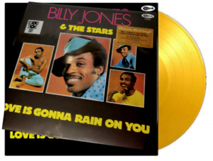 Jones Billy & The Stars: Love Is Gonna LP Coloured Yellow Vinyl Numbered BF 2020