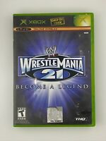 WWE WrestleMania 21 - Original Xbox Game - Complete & Tested