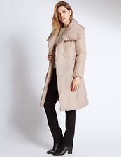 MARKS & SPENCER PER UNA Padded & Quilted Duvet Coat T493816 BNWT