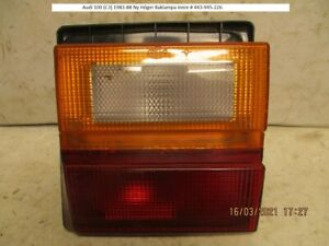 Audi 100 (C3) 1983-88 New Right Tail Lamp inner # 443-945-226