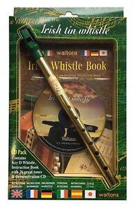 Waltons Irish Tin Whistle CD Pack 08AWAL-1514