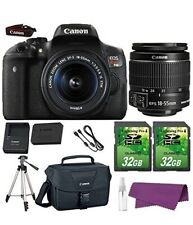 Canon EOS Rebel T6i DSLR Camera with Full Package Bundle