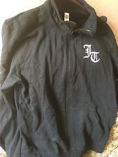 Vintage Justin Timberlake Justified World Tour 2003 Black Size Large Jacket New