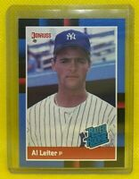 Al Leiter New York Yankees RC 1988 Donruss Rated Rookie #43