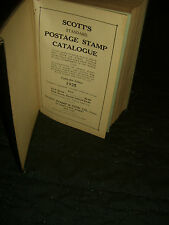 1925 Scott Standard Postage Stamp Catalogue hardcover.