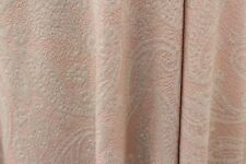 SALE!!! Ethnic Mango Leaf Soft Lurex Poly Jersey Dress Fabric Material (Pink)