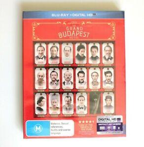 The Grand Budapest Hotel Blu-ray - Sealed