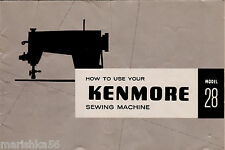 KENMORE 28, 148.280, 148.281 INSTRUCTION Manual / OWNER'S Guide PDF Download