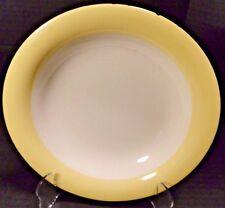 Homer Laughlin Eggshell Swing Organdy Yellow Soup Bowl