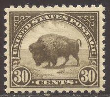 U.S. #569 Choice Mint Xf Nh - 1922 30c Bison ($50)