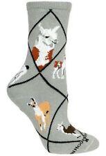 LLAMA Gray Socks~Wheel House~USA~M~Mix n' Match Get 4th Pair FREE Sale! Gift!