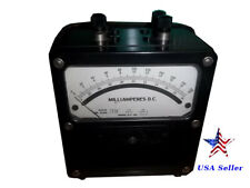 Weston Electrical Instruments, model 931, 19492, milliamperes D.C. meter.