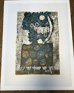 "Shraga Weil ""The Ram"" Signed Limited Edition 1963 Safrai Gallery Serigraph"