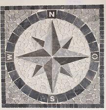 Schöner Wohnen Antikmarmor Kompass Rosone Kompassrosone 60x60  NDA014