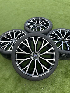 "4 X Genuine Original Volvo XC60 22"" R Design 31454682 Alloy Wheels& Tyres OEM"