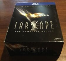 Farscape: The Complete Series (Blu-ray Disc, 2013, 20-Disc Set) Jim Henson MINT!