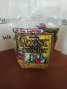 💥VINTAGE 1998 Wendy's Quest for Camelot Devon and Cornwall Rolling Unopened💥
