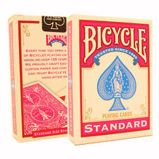 Fuchsia Bicycle Cards - Pink Bicycle Deck - Rider Back USA Made - Poker Size