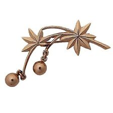 BRANCH DESIGN 14K GOLD BROOCH