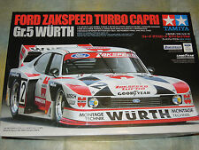 Tamiya 1/24 Ford Zakspeed Turbo Capri Gr.5 Wurth Model Kit Voiture #24329