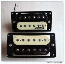 Wilkinson PAF Neck Humbucker + Bridge Humbucker Pickups ~ Zebra made in Korea
