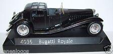 SOLIDO BUGATTI ROYALE COUPE DE VILLE 1928 NOIRE REF 4036 1/43 BOX bis