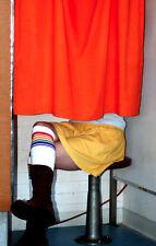 Over the Knee Rainbow Striped Tube Socks Retro!! 25-1