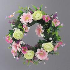 Homestyles Türkranz- Blütenkranz - Durchmesser 36 Cm