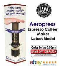 Genuine Aeropress Espresso Coffee Maker including 350 paper Filters