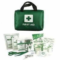 FIRST AID KIT BAG 90 PIECES MEDICAL EMERGENCY TRAVEL HOME CAR TAXI WORK PLACE