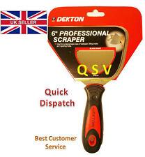 """Dekton Professional 6"""" Inch Wallpaper Paint Scraper Filler Hole & Crack Repair."""