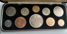 More details for 1953 gb queen elizabeth coronation set in red case