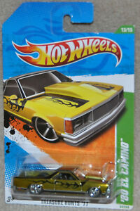 Hot wheels Super Treasure Hunt '80 EL CAMINO Treasure Hunts '11